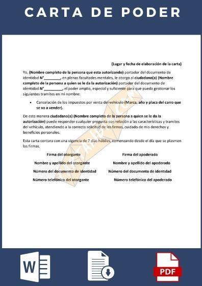 Carta de poder