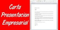 Como debes enviar una carta de presentacion