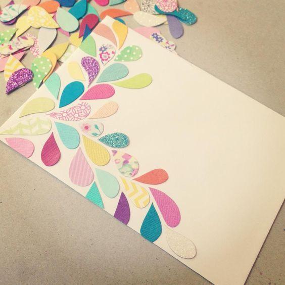 como decorar una carta 1